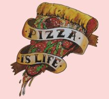 Pizza is Life Kids Clothes