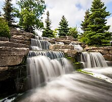 Richmond Green Waterfall by John Velocci