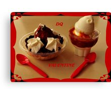 D is for Dessert ~ Canvas Print