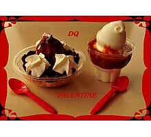 D is for Dessert ~ Photographic Print