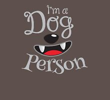 I'm a DOG PERSON doggy dogs Unisex T-Shirt