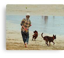 Go Fetch ... Canvas Print