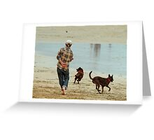 Go Fetch ... Greeting Card