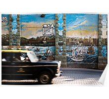 Mumbai Mural, Taxi Poster