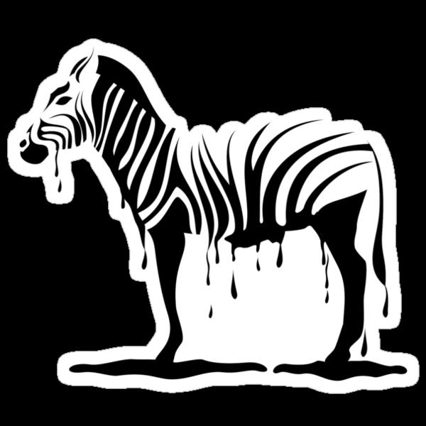 Zebra melting by Anastasiia Kucherenko