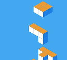Isometric Tetris Cube by KingElsear