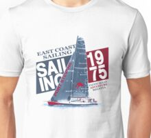 East Coast Sailing - Sailingboat Unisex T-Shirt