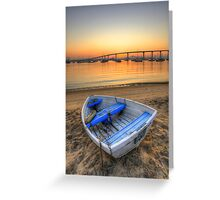 Rowboat at Rest Greeting Card