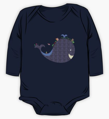 whale One Piece - Long Sleeve