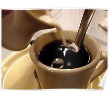 Caffeine Fix - Cream Please Poster