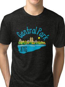 Central Park NYC Tri-blend T-Shirt