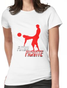 Futbol Picante Womens Fitted T-Shirt