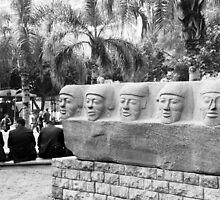 Lunch break, Cairo museum, Egypt by NicoleBPhotos
