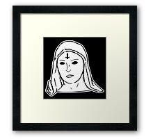 Satanic Mary Framed Print