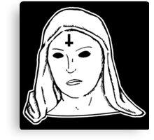 Satanic Mary Canvas Print