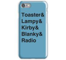 Toaster-vetica iPhone Case/Skin