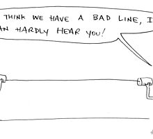 bad line by Loui  Jover