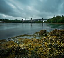 Britannia Bridge Storm by picturistic