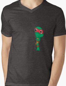 HIDDEN TMNT RAPHAEL ! Mens V-Neck T-Shirt