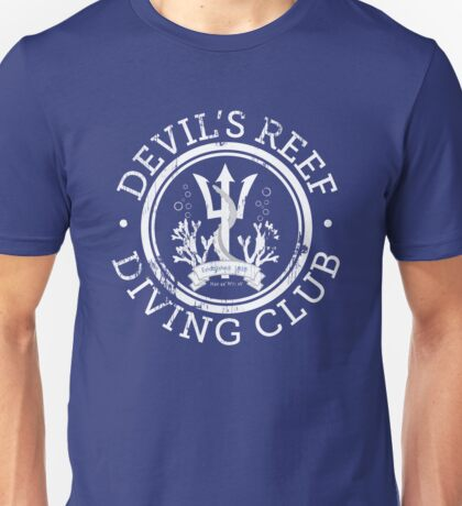 Devil's Reef Diving Club Unisex T-Shirt