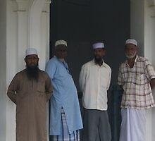 Muslim Men by chobin
