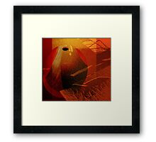 Abstract ceramic Framed Print