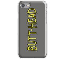 Butt-Head T-Shirt iPhone Case/Skin