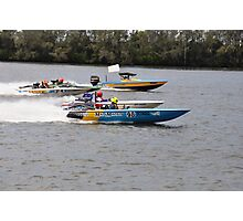 Superboats on the Manning River Taree. Photographic Print