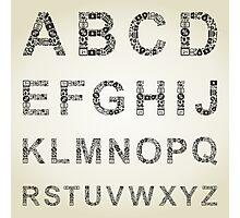 Alphabet business Photographic Print
