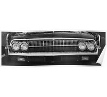 63 Lincoln Continental Poster