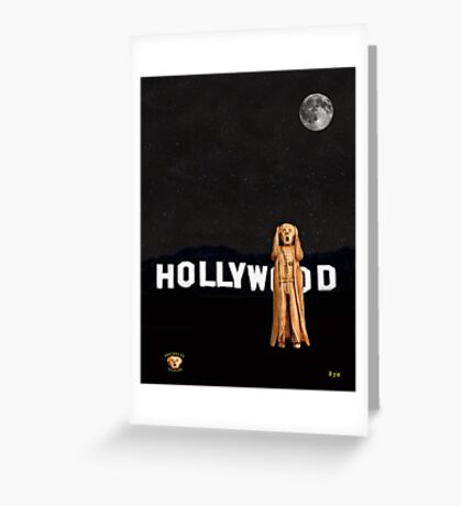 The Scream World Tour Hollywood Greeting Card