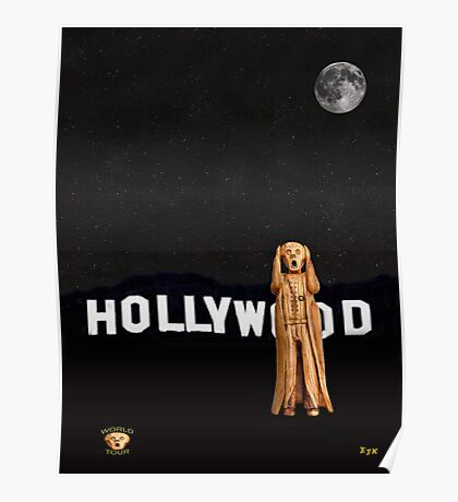 The Scream World Tour Hollywood Poster