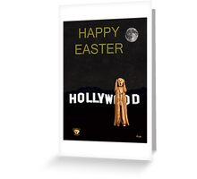 The Scream World Tour Hollywood happy easter Greeting Card