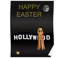 The Scream World Tour Hollywood happy easter Poster