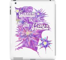 Queen of the Gays iPad Case/Skin