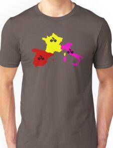 Giro - Tour - Vuelta Unisex T-Shirt