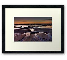 Bellambi Sunrise - HDR Framed Print
