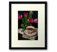 Still Life with Tea Cup Framed Print