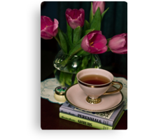 Still Life with Tea Cup Canvas Print