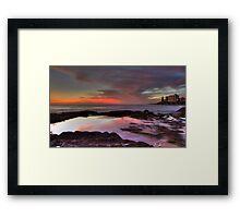 Cronulla Rockpools - HDR Framed Print