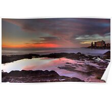 Cronulla Rockpools - HDR Poster
