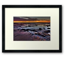 Bellambi Beach Sunrise - HDR Framed Print