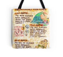 Pregnancy: Nesting Forecast Tote Bag