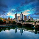 Over the Yarra by Matt Haysom