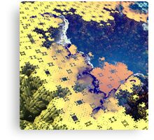 Toxic Paste - Abstract Fractal Canvas Print