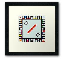 8-BIT Monopoly Framed Print