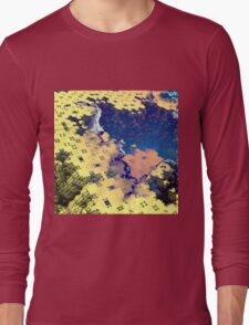 Toxic Paste - Abstract Fractal Long Sleeve T-Shirt