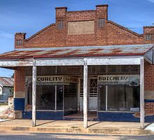 The old Butcher's Shop, Boorowa, NSW, Australia by Adrian Paul
