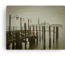 Misty Morning in Venice Canvas Print
