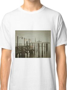 Misty Morning in Venice Classic T-Shirt